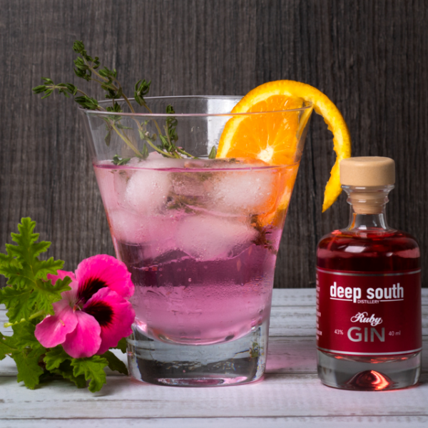 Ruby Hibiscus G&T