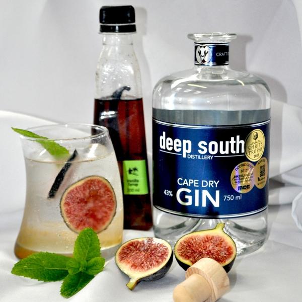 Vanilla Fig Gin Fizz