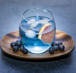 Recipe - Gin Bluebird Cocktail