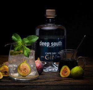 Recipe - Fig Gin Fizz cocktail
